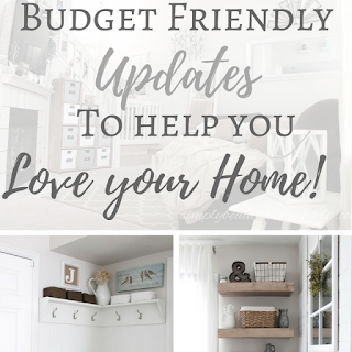 Thrifty Budget Friendly Updates to Help you Love your Home