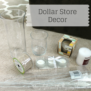 Dollar Store Decor