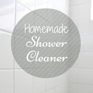 Homemade Shower Cleaner