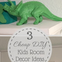 3 Cheap DIY Kids Room Decor Ideas