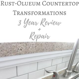 Rust-Oleum Countertop Review and Repair