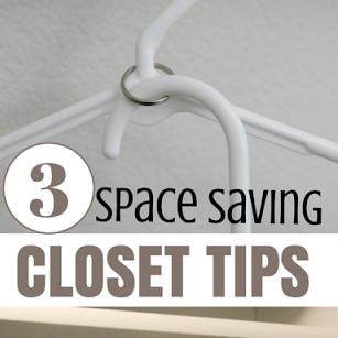 Space Saving Closet Tips