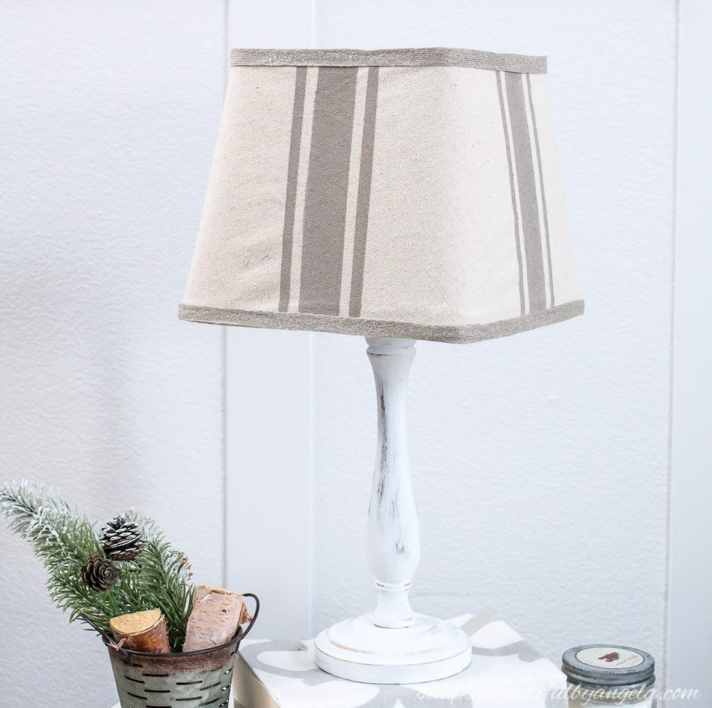 Thrifted Lamp Makeover