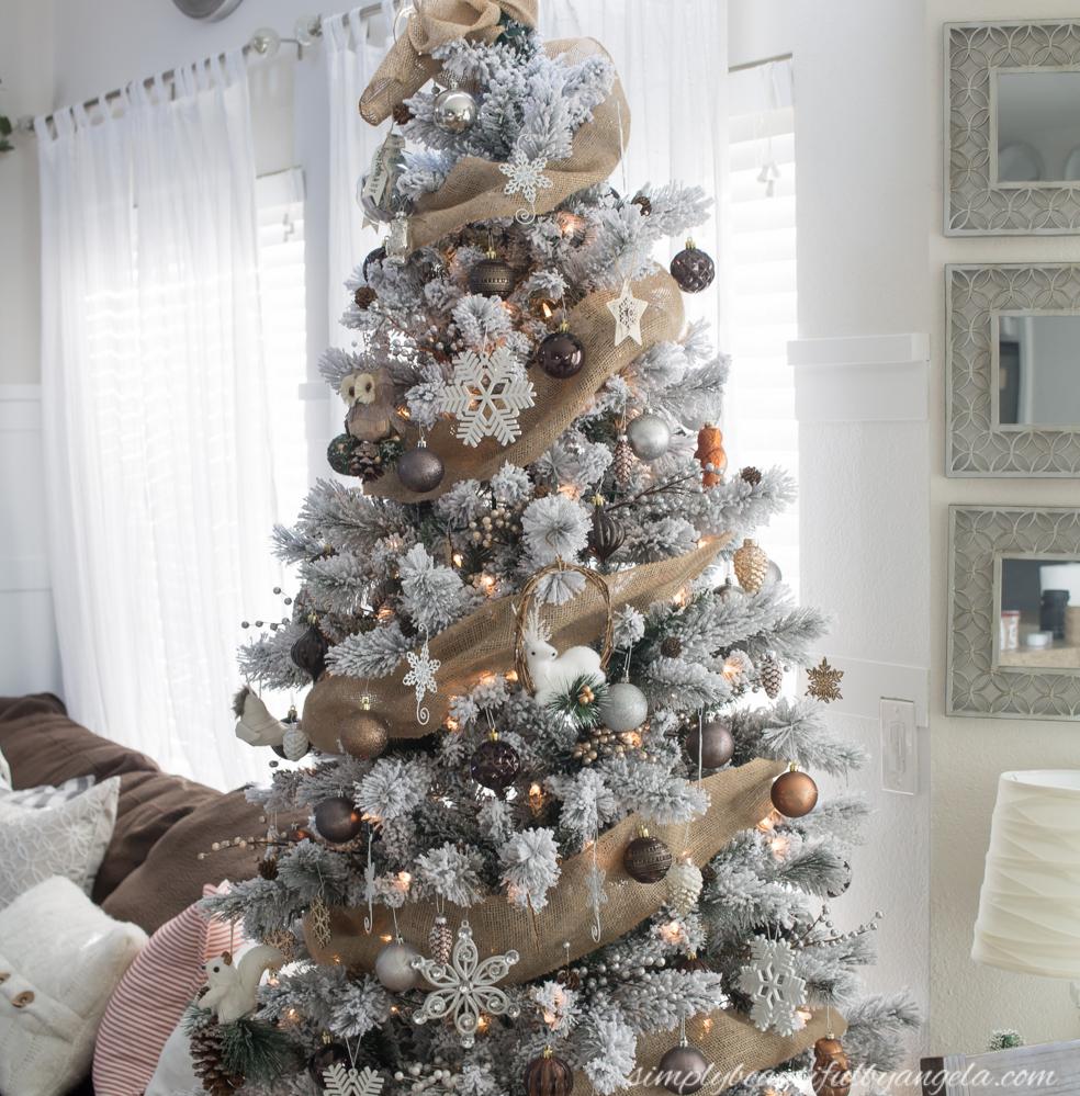 Winter Woodland Christmas Tree