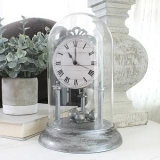 Vintage Dome Clock Makeover
