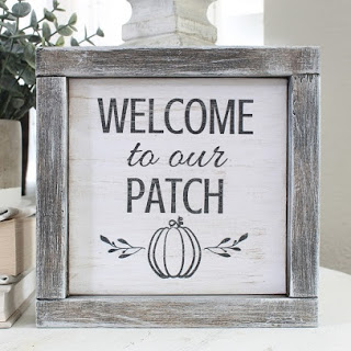 DIY Pumpkin Patch Sign