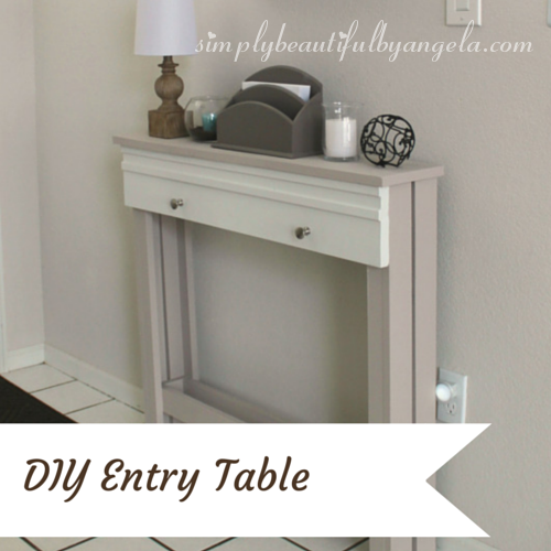 Diy Entry Table Simply Beautiful By Angela