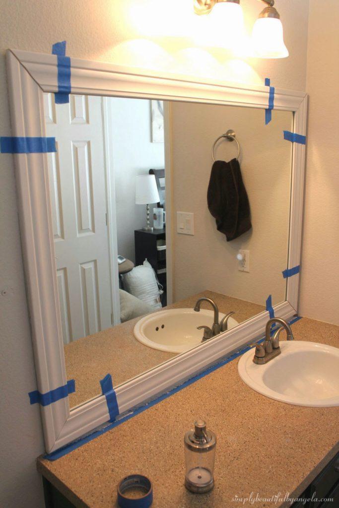 Simply Beautiful Bathrooms: Framing The Bathroom Mirrors