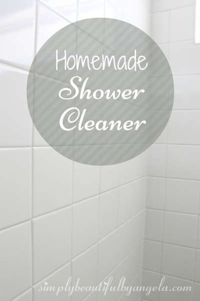 Homemade Shower Cleaner | Simply