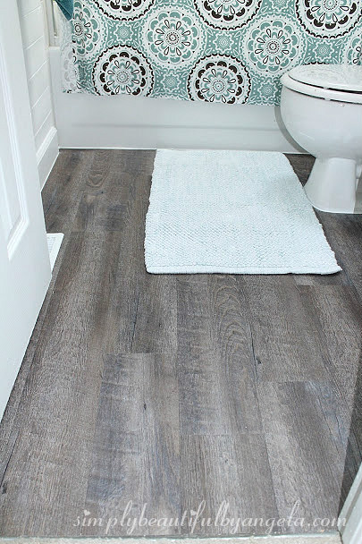 Peel And Stick Wood Look Vinyl Flooring Simply Beautiful