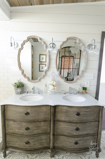 Choose How To Decorate A Bathroom Vanity Simply