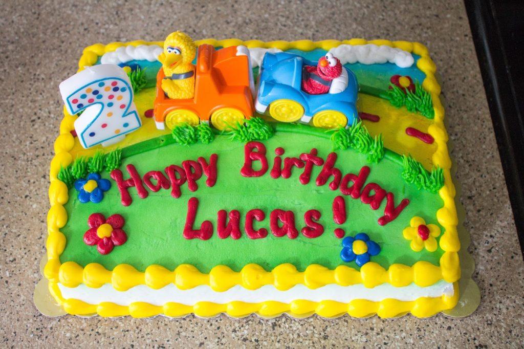 Lucas Sesame Street Birthday Party