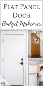 Flat Panel Door Budget Makeover
