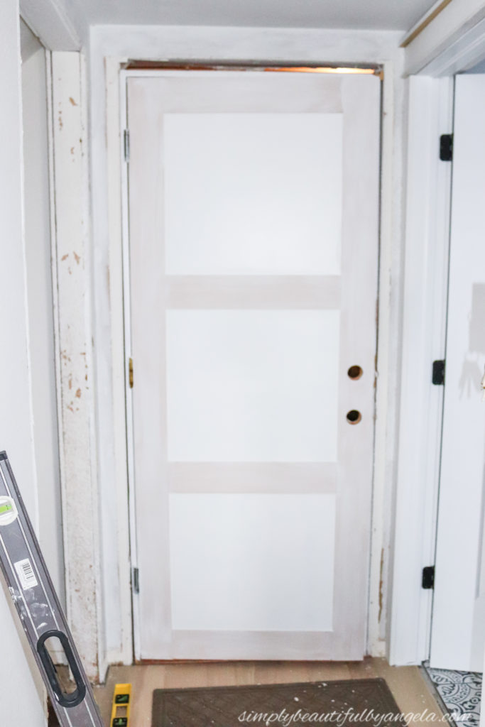 Flat Panel Door Budget Makeover Simply Beautiful By Angela