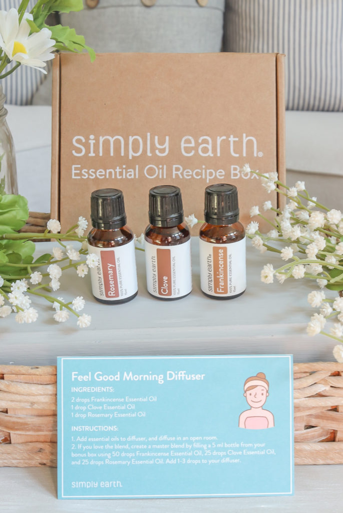 Simply Earth Essential Oils: August Box   Simply Beautiful By Angela